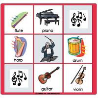 Music Instruments Preschool Activities Crafts Lessons