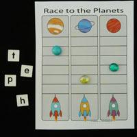 Space and Astronauts Preschool