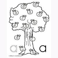 Work On Writing Skills With These Apple Printables Kindergarten S Can Practice Identifying Uppercase And Lowercase Letters Mazes