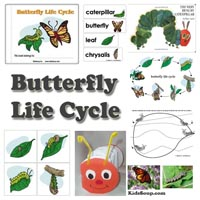 Preschool Butterfly And Caterpillar Activities Games And