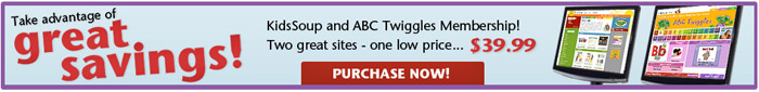 KidsSoup and ABC Twiggles memberships