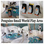 preschool and kindergarten small world areas