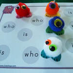 preschool and kindergarten sight words activities and games