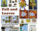 Fall and leaves theme and activities