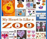 My heart is like a zoo theme and activities