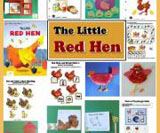 The little red hen activity and theme for preschool and kindergarten