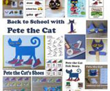 Back to School with Pete the Cat theme and activities