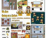 Safari theme and activities