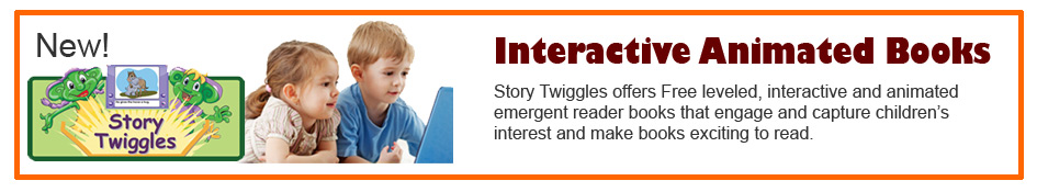 Story Twiggles interactive books