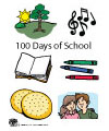 100 Days of School Felt Song