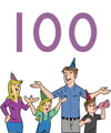 100 days of School activities and crafts