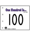 One Hundred is... emergent reader booklet