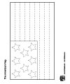 American flag tracing worksheet