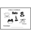 Animals with hats emergent reader