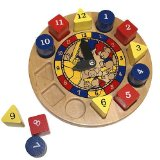 Hickory Dickory Dock Clock Learning Game