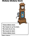 Hickory Dickory Dock Poster