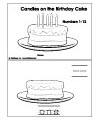 birthday booklet and printables