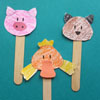 Baby animals puppets and crafts