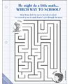 if you take a mouse to school maze
