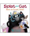 Splat the cat back to school book