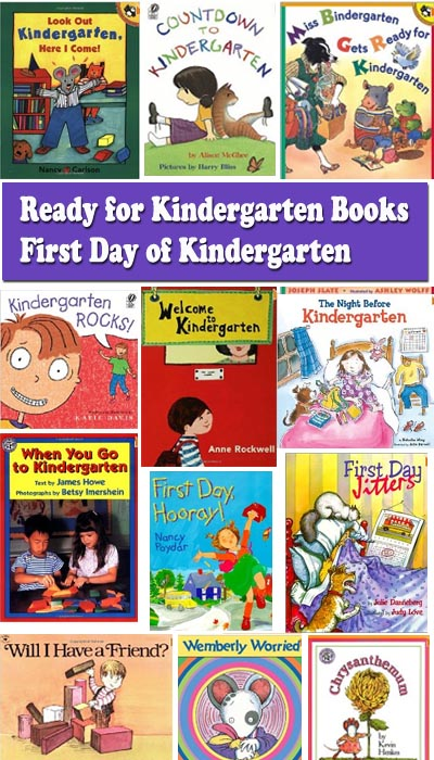 Ready for Kindergarten - First day of Kindergarten books