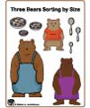 three bears size folder game