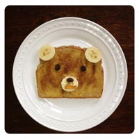 Bear Cinnamon Snack