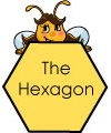 hexagon and bee lesson and activities