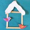 Birds in winter craft and activities