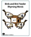 Feed birds rhyming folder game