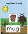-ug word family folder game