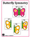 butterfly symmetry folder game