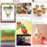 Cinco de Mayo KidsSoup Pinterest Board