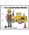 I'm a construction worker story booklet