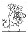 Miss Twiggle coloring page