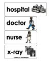 doctor hospital word wall