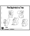 Squirrels story activity