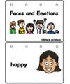 emotions flip book and printables