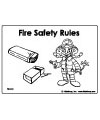 Fire Safety Worksheets Preschool http://www.kidssoup.com/Fire-safety/firefighter.html
