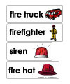 firefighter word wall