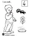 Preschool Coloring Pages Five Senses http://www.kidssoup.com/Five_senses/five_senses_activities.html