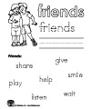 friendship printables