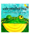 wide mouthed frog literacy lesson