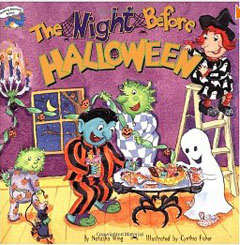 Night before Halloween children's book