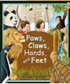 Paws, claws, hands and feet book
