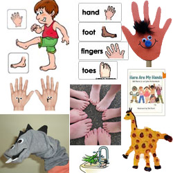 Hands and Feet Theme