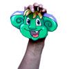 Eartwiggle hand puppet craft