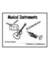 Musical Instruments emergent reader