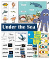 Ocean and Ocean Animals crafts, activities, games