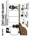 Pirates sight words folder game Kindergarten and Preschool